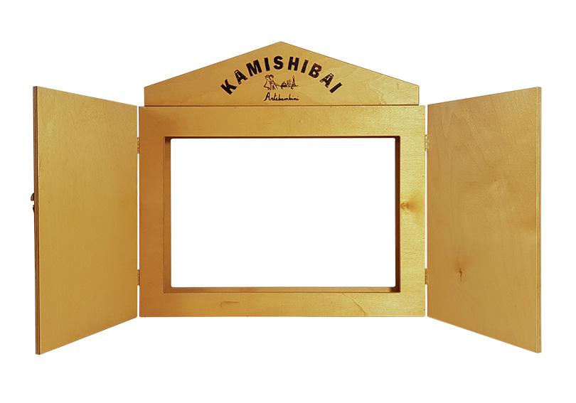 Teatro in legno Kamishibai (Butai)